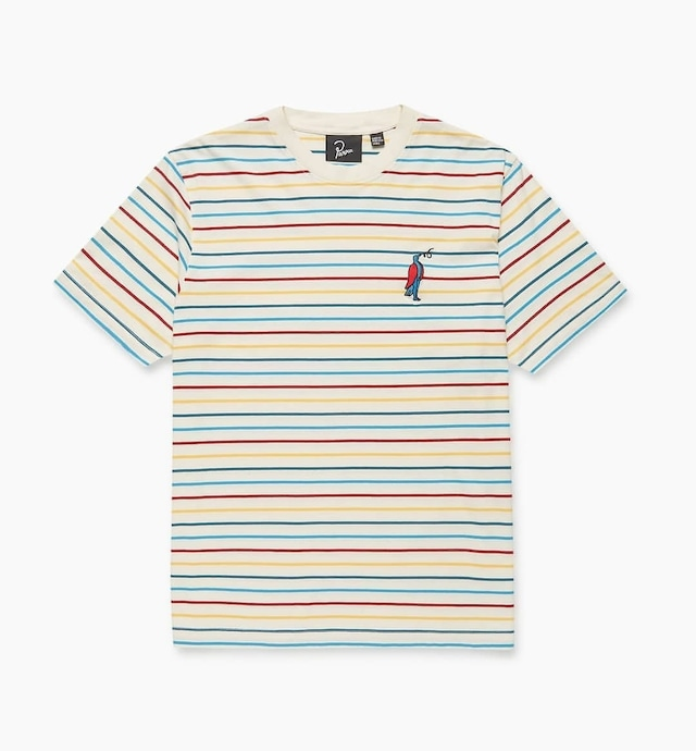 BY PARRA STARING STRIPED T SHIRT MULTI