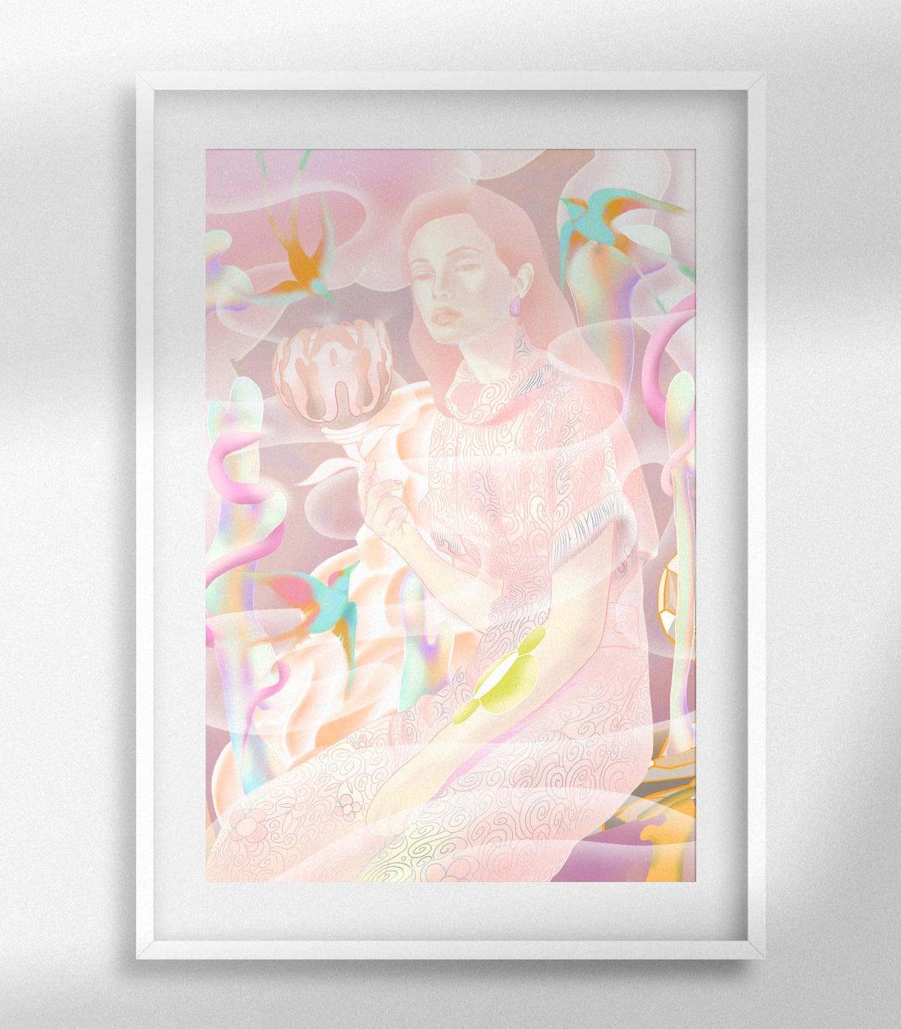 """""""Flower"""" SIZE : A3(297mm x 420mm)"""