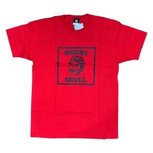 【YBC】RUGBY SKULL Big Logo T-Shirt Red