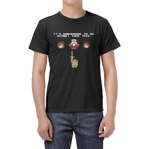 Tシャツ ゼルダの伝説 ブラック