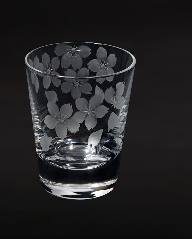 桜 - 花切子- ショットグラス