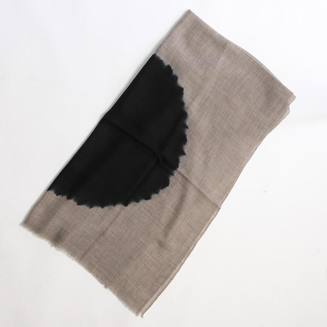 Hand Woven Baby Wool Sakaboushi Shibori Circle ベビーウール ショール #1065[ suzusan ]