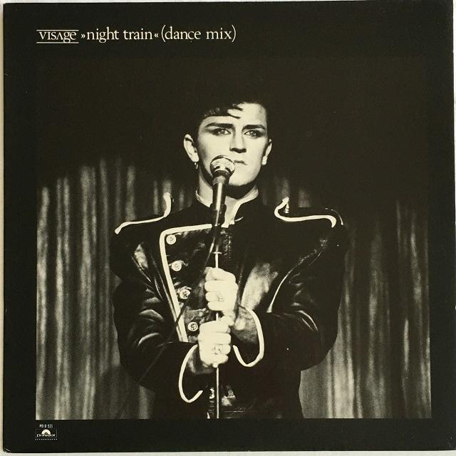 【12inch・米盤】Visage / Night Train (Dance Mix)