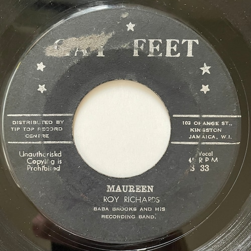 Roy Richards - Maureen【7-20710】