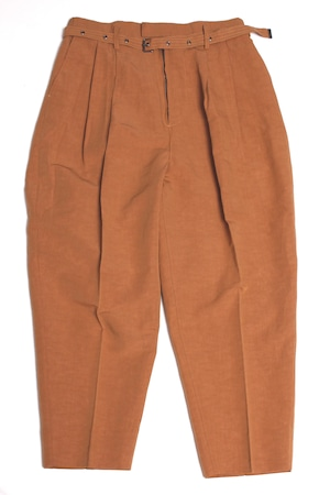 Italian Detail Belt Wide Pants -camel <LSD-BA1P2>