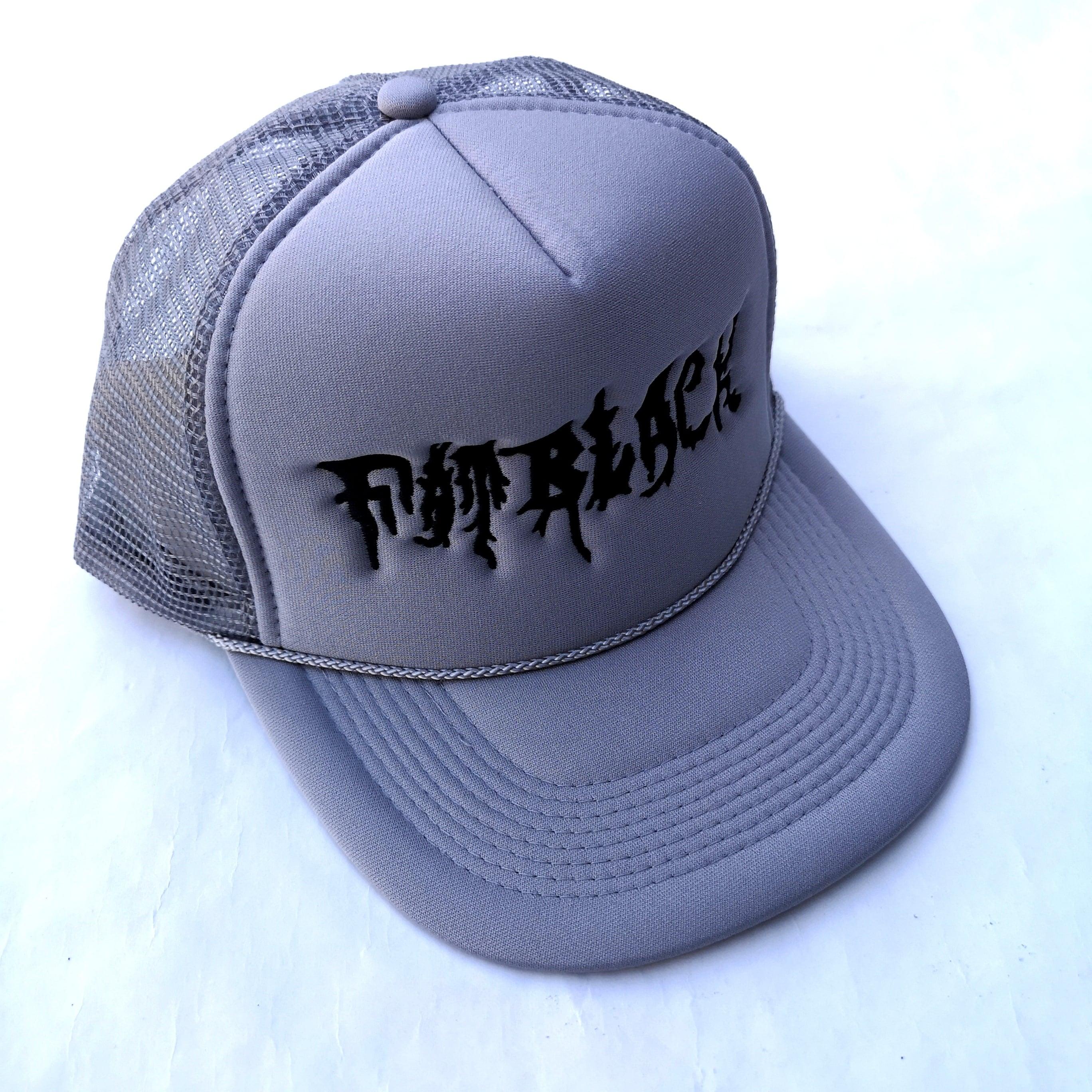 FATBLACK MESH CAP NAVY, GRAY