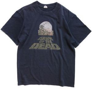 00年代 ゾンビ 映画 Tシャツ 【M】 | ロメロ DAWN OF THE DEAD ホラー ヴィンテージ 古着
