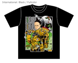 [Black / Fullcolor] Collaborative T-shirt by Hiroshi Matsuyama (CyberConnect2) and jbstyle. *Use coupon code for 10% OFF