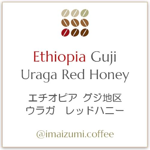 【送料込】エチオピア グジ地区 ウラガ レッドハニー - Ethiopia Guji  Uraga Red Honey - 300g(100g×3)