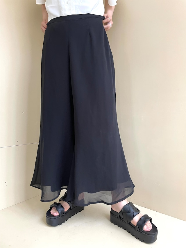 see-through pants  / 7SSPT15-18