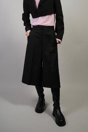 FLARE MIDDLE PANTS (BLACK)  2109-34-70