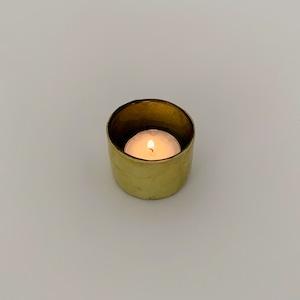 Votive Candleholder Bamboo Olive Green ボーティブ キャンドルホルダー バンブー オリーブグリーン