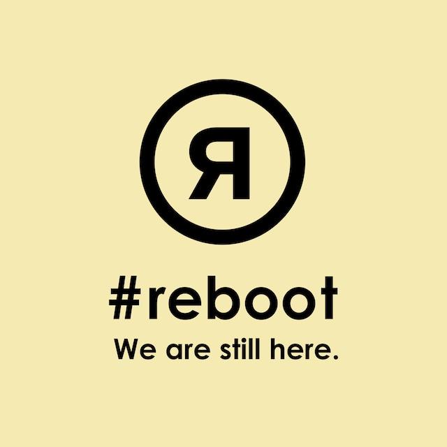 #rebootステッカー|イエロー