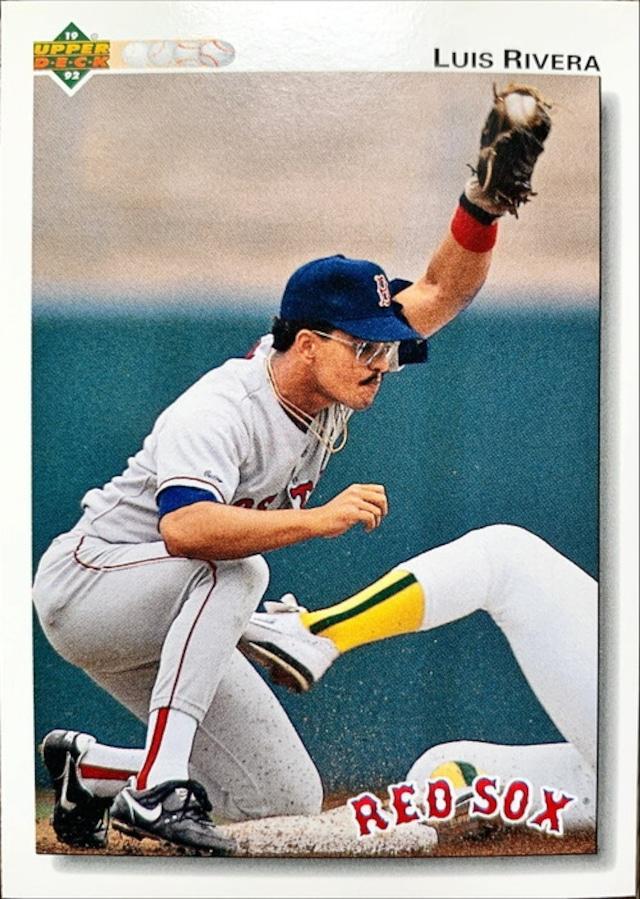 MLBカード 92UPPERDECK Luis Rivera #308 RED SOX
