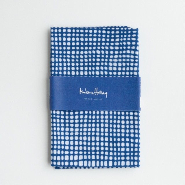 注染てぬぐい/ マリアンヌのあみ【Marianne Hallberg(マリアンヌ・ハルバーグ)】 北欧ブランド 日本製