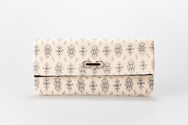 クラッチバッグ(角キリ)Clutch Bag with Square Flap