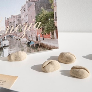 stone card holder 4pics set / ストーン カードホルダー 名刺 ポストカード 写真立て 韓国 インテリア 雑貨