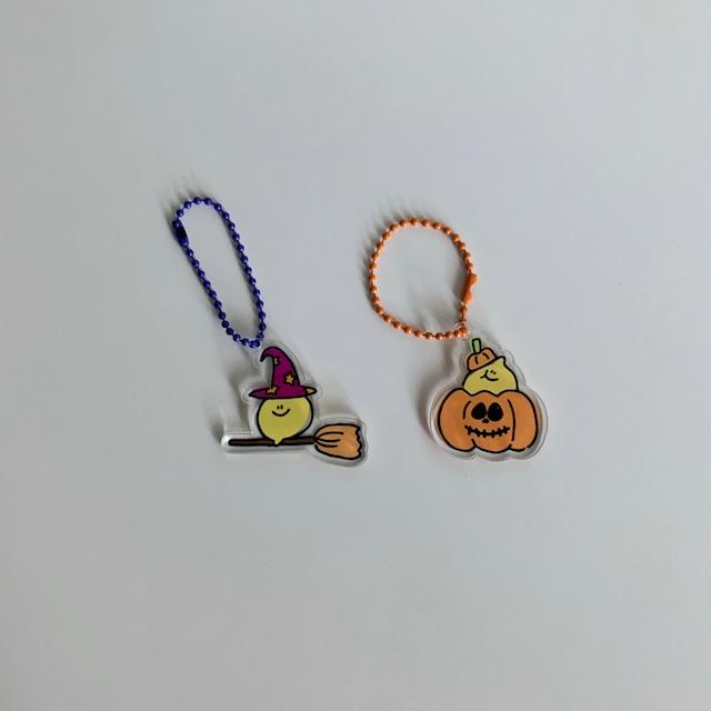 ※限定商品※ [second morning] Happy Halloween キーリング(全2種)