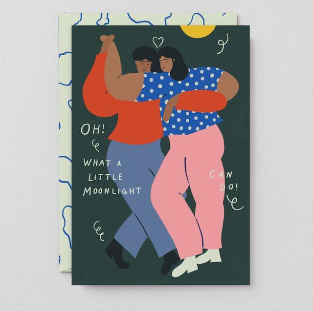 WRAP / DANCERS ART CARD -Artwork by Karl-Joel Larsson-