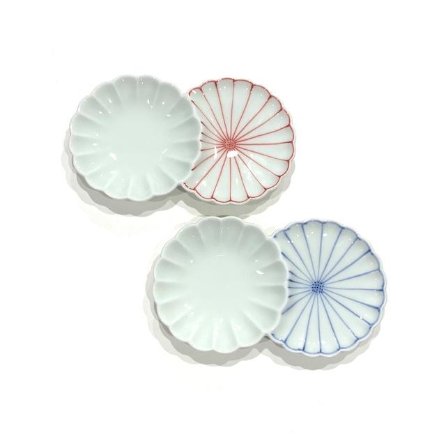 菊割  小分皿
