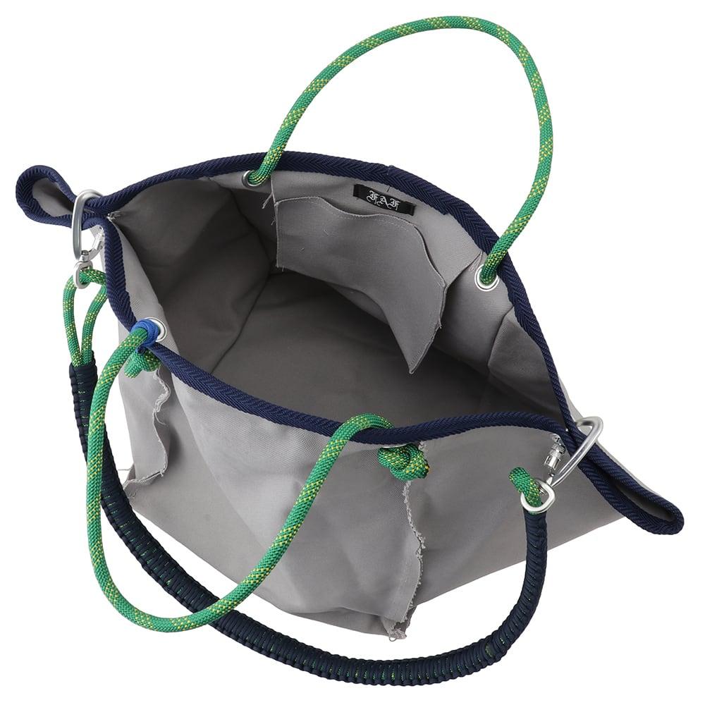 Sound type Large Tote bag / Gray - 画像2