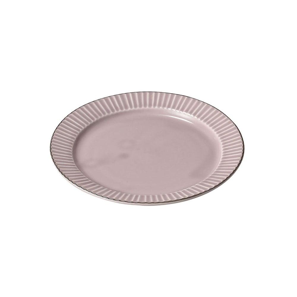 aito製作所 「ティント Tint」プレート 皿 M 約17cm パープル 美濃焼 289009