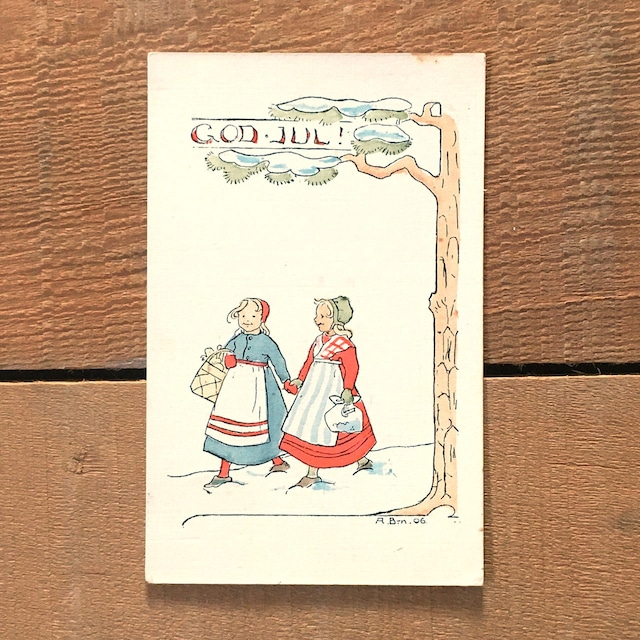 クリスマスカード「作者詳細不明」《201114-03》