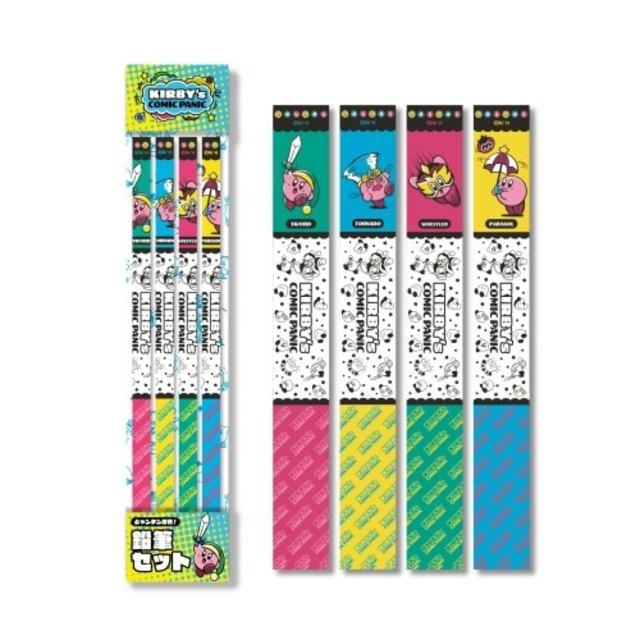 星のカービィ カービィのコミック・パニック 鉛筆セット  /  エンスカイ