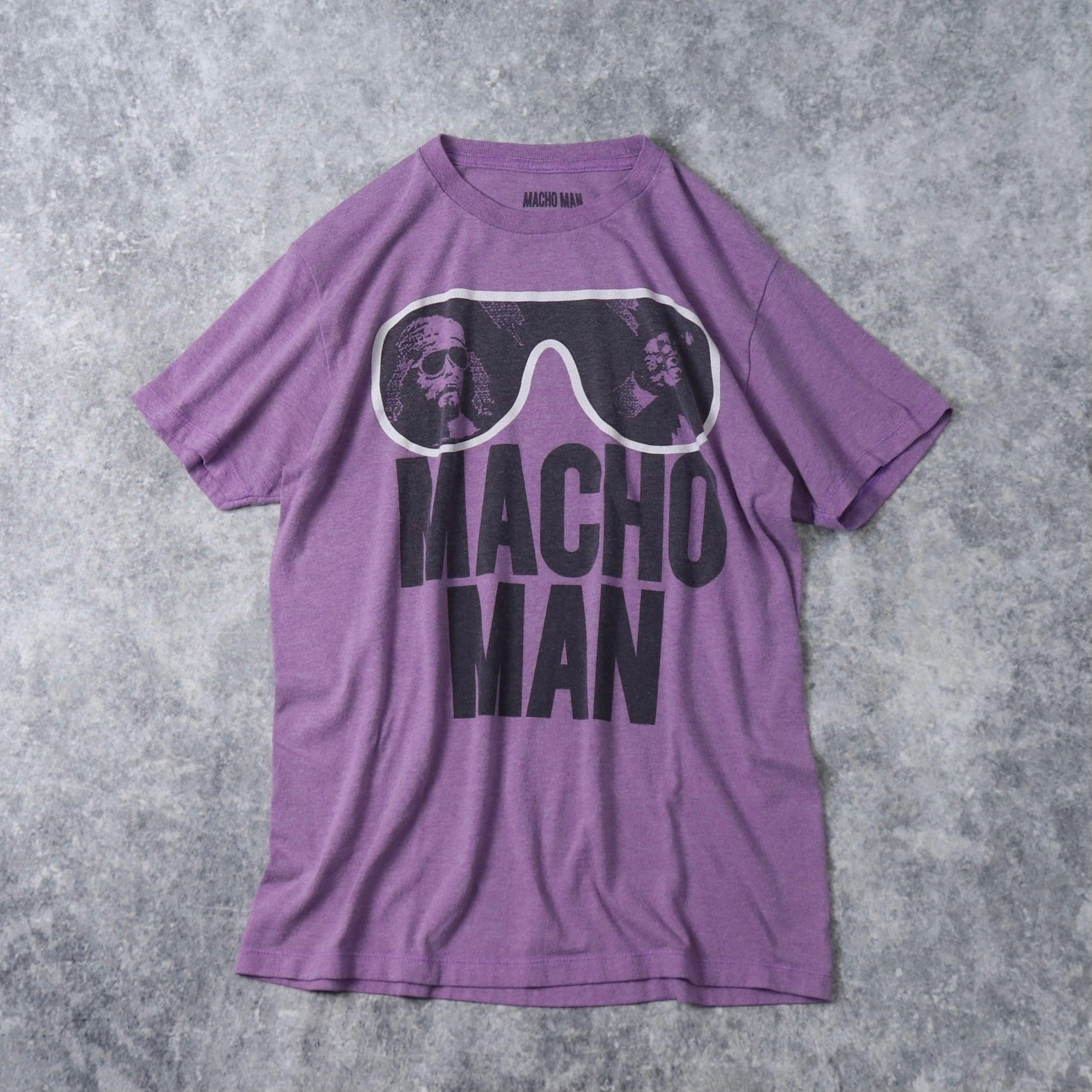 """"""" MACHO MAN """"   S/S   TEE   SHIRTS   M A290"""