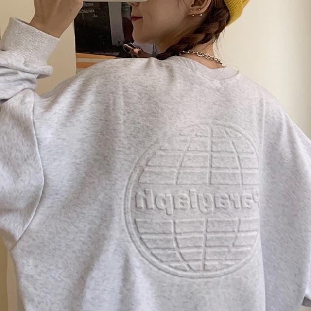 【トップス】絶対流行 カジュアル 長袖 シンプル 韓国系プルオーバー 無地 パーカー35111164