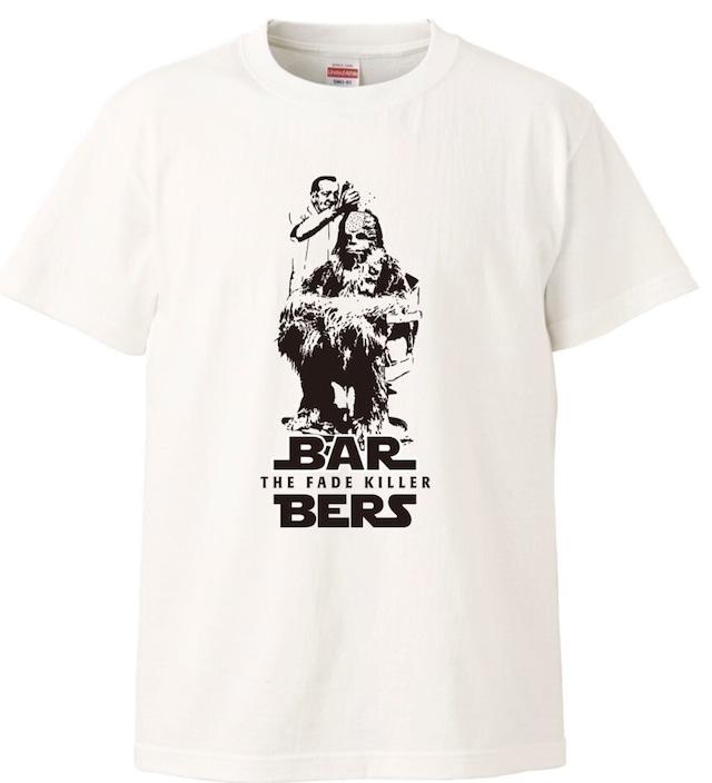 ★Sサイズさん注目~★THE FADEKILLER BARBERS チューバッカTシャツ ホワイト各サイズ