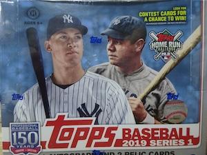 MLB 2019 TOPPS SERIES 1  JUMBO