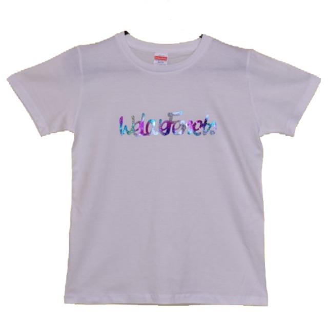 we Love Ferrets Tシャツ 5001-03 rainbow 【カラー ホワイト】(サイズG-M)