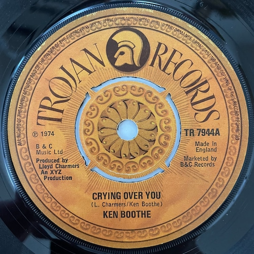 Ken Boothe - Crying Over You【7-20787】