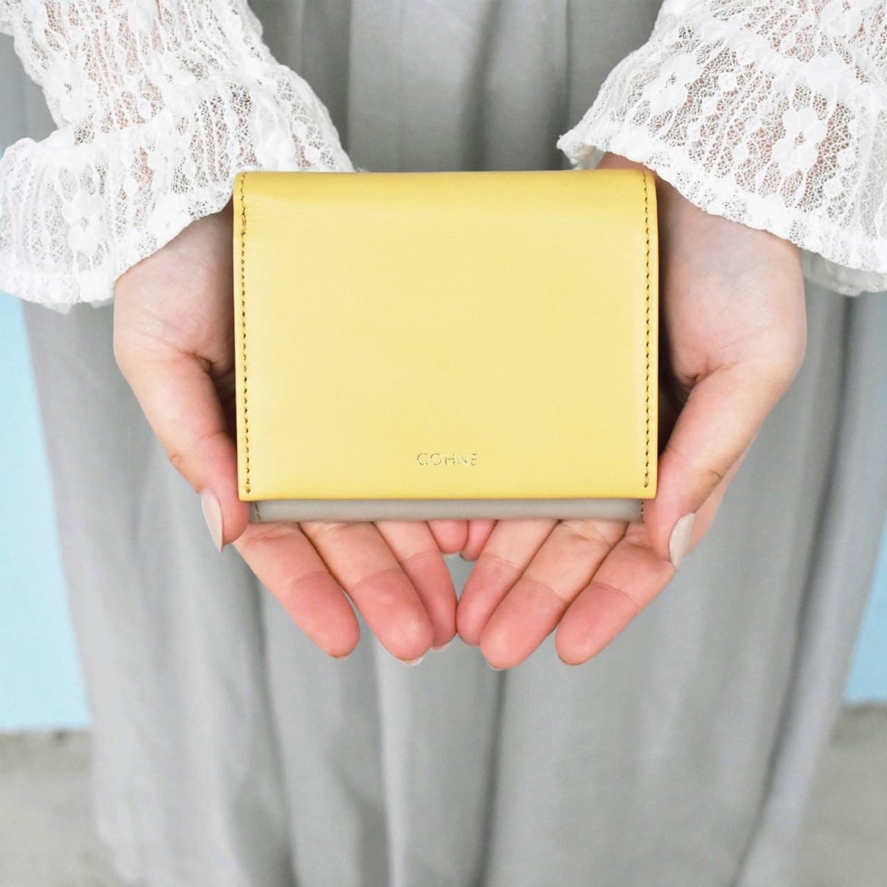 [国産レザー ピューコローリ] ギャルソンミニ財布 L1001-19A 全5カラー