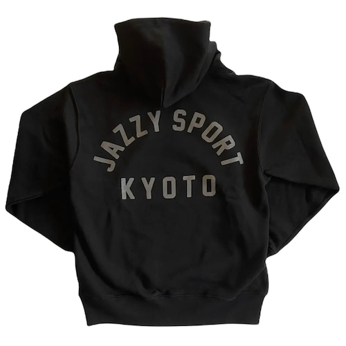 【再入荷】JS Kyoto カレッジ ロゴ ヘヴィーウェイト フーディー/ブラック