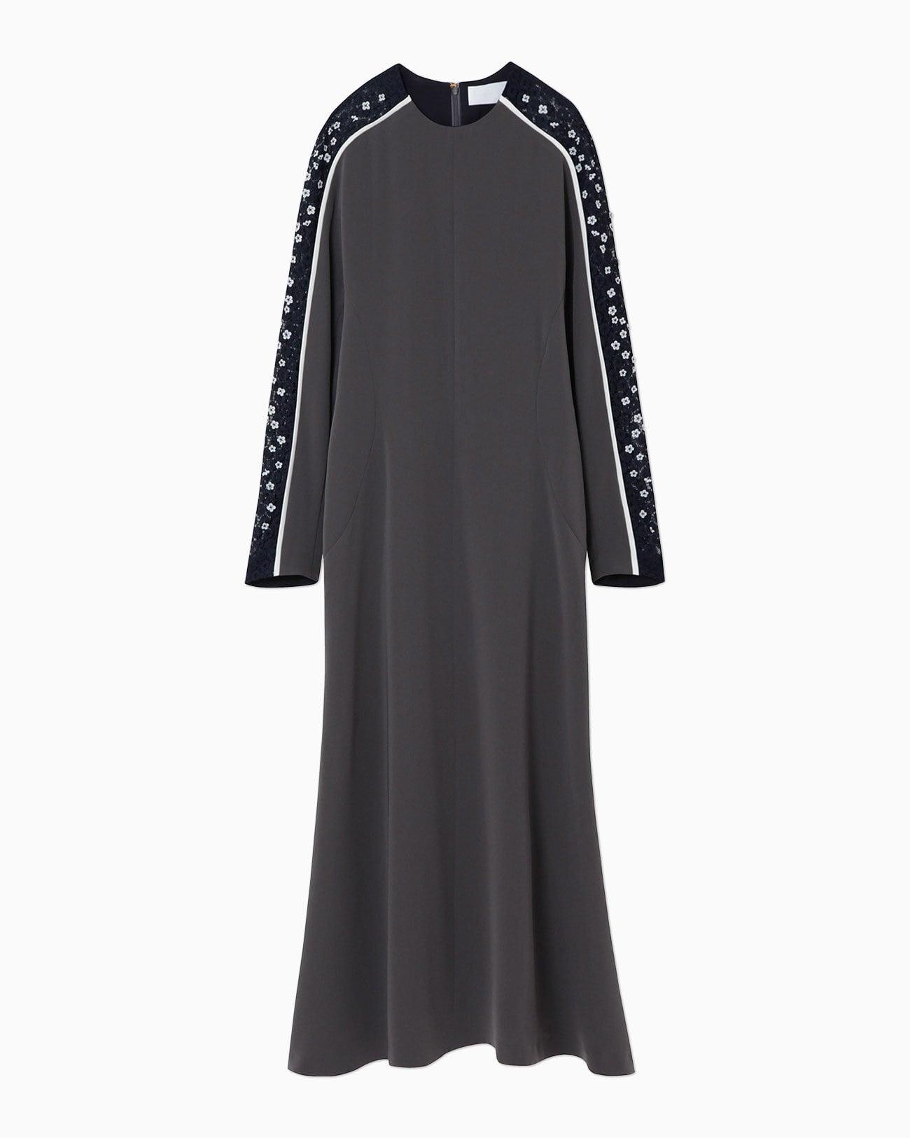 【Mame Kurogouchi】Osmanthus Motif Embroidery Dress  MM21FW-DR038