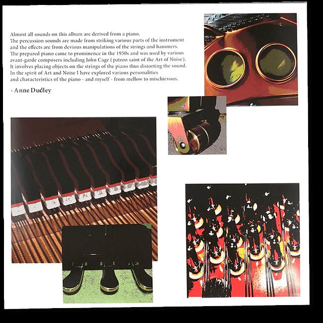 アン・ダドリー『プレイズ・アート・オブ・ノイズ』アナログレコード - 画像5