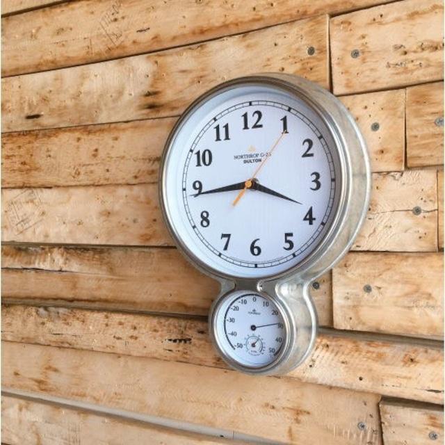 Wall Clock Northrop G-23 Galvanized