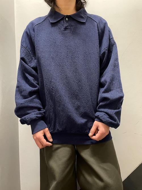 90's Wek the world コットンプルオーバーシャツ