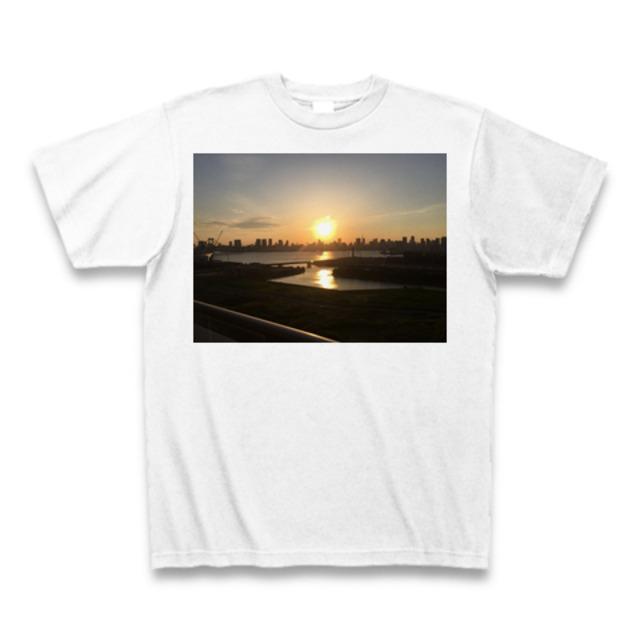 Odaiba sunset T-shirts