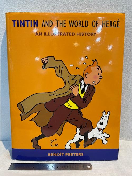 洋書 TINTIN AND THE WORLD OF HERGE