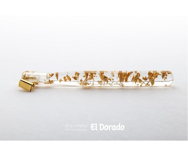 El Dorado & Artemi - the new 2-in-1 resin penholder by Luis Creations / (ストレート・オブリーク兼用)