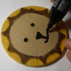 和紙で作る【ライオンさんのコースター】キット