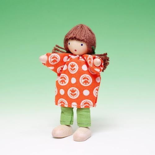 ヘアヴィック 女の子 オレンジ