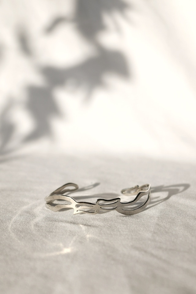 "Arabesque Design Bangle ""thin"" silver アラベスクバングル スィン シルバー"