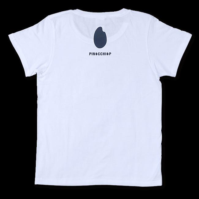 ピノキオピー 銀シャリTシャツ(メンズ/白米バージョン) - 画像2