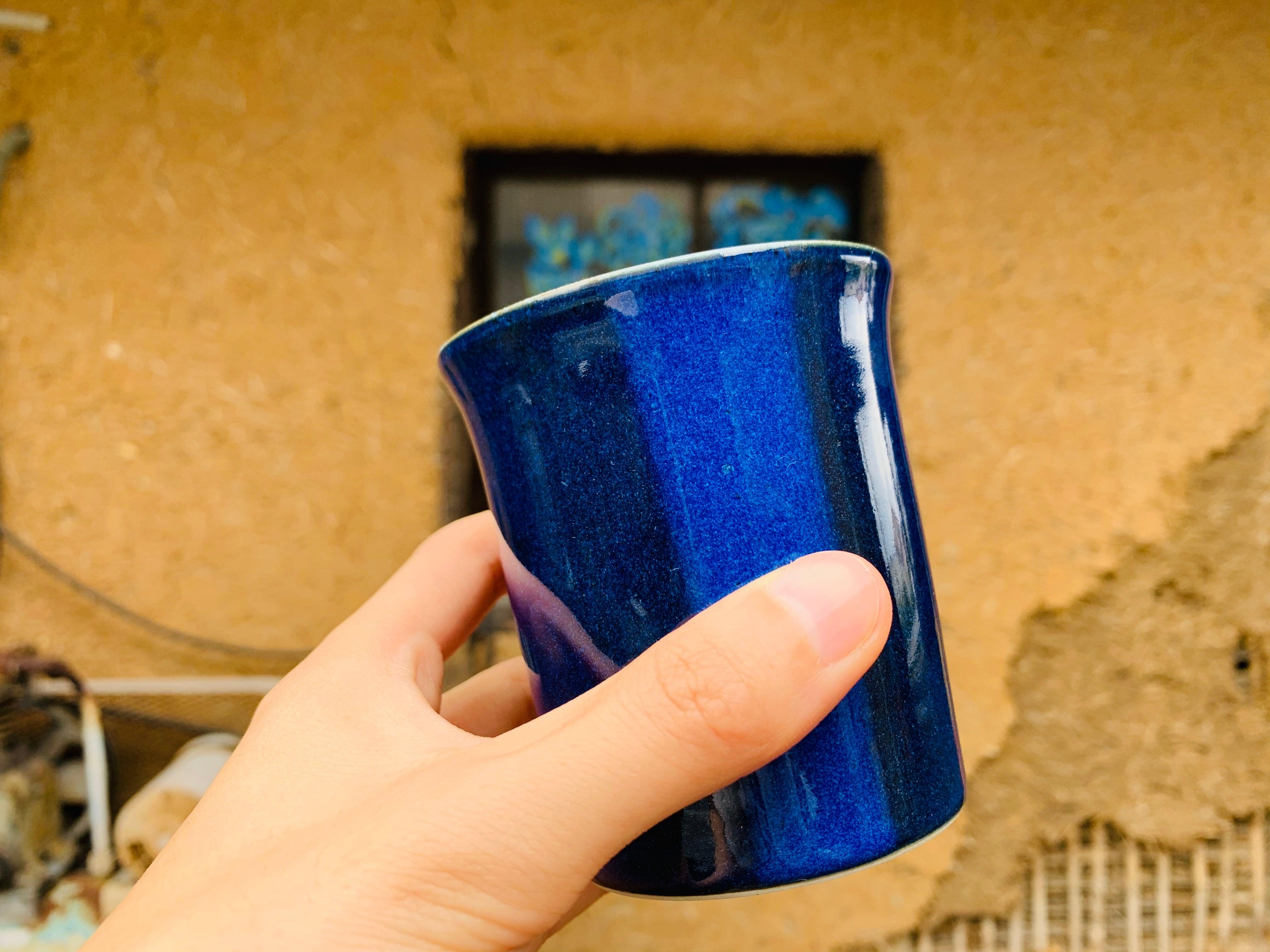 藍青フリーカップ M