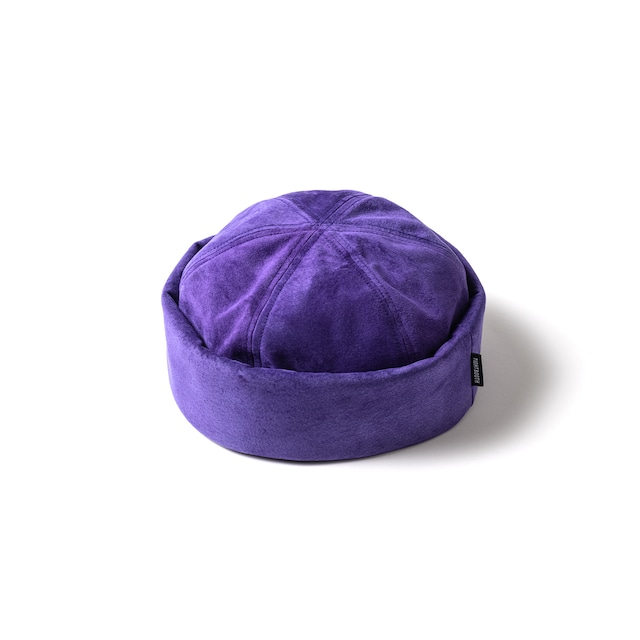 TIGHTBOOTH  SUEDE ROLL CAP PURPLE