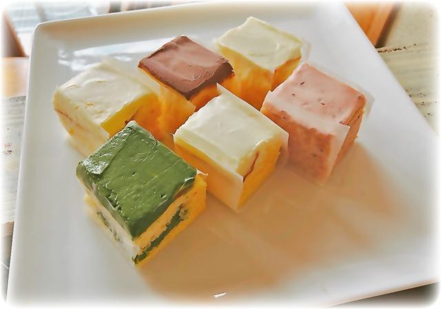 ハッピーセット(ハーフサイズの6種アソートセット ベイクドチーズケーキ)